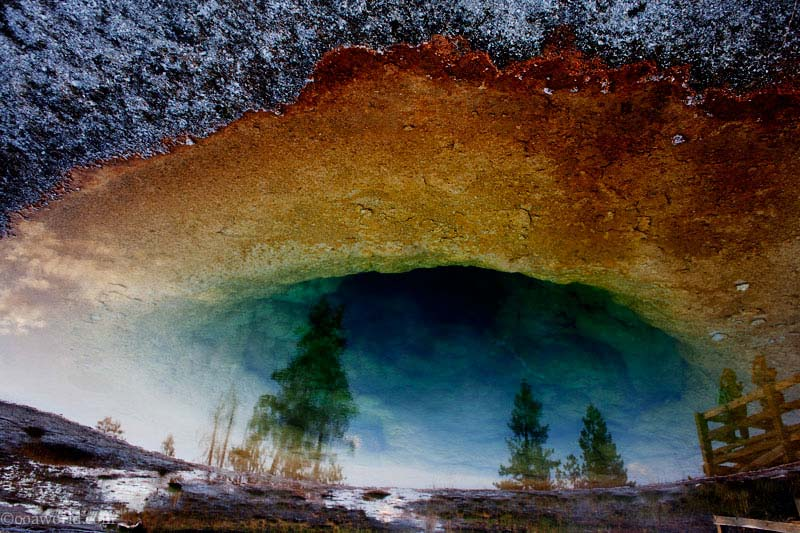 Yellowstone Park, spring
