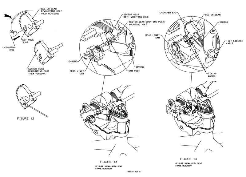 Aeron  Gear  Tilt Limiter Cable Replacement