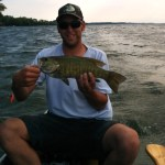 Matt Morrison with a great smallmouth!