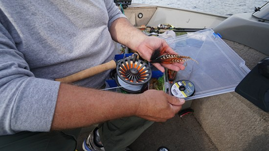 muskie fly tackle