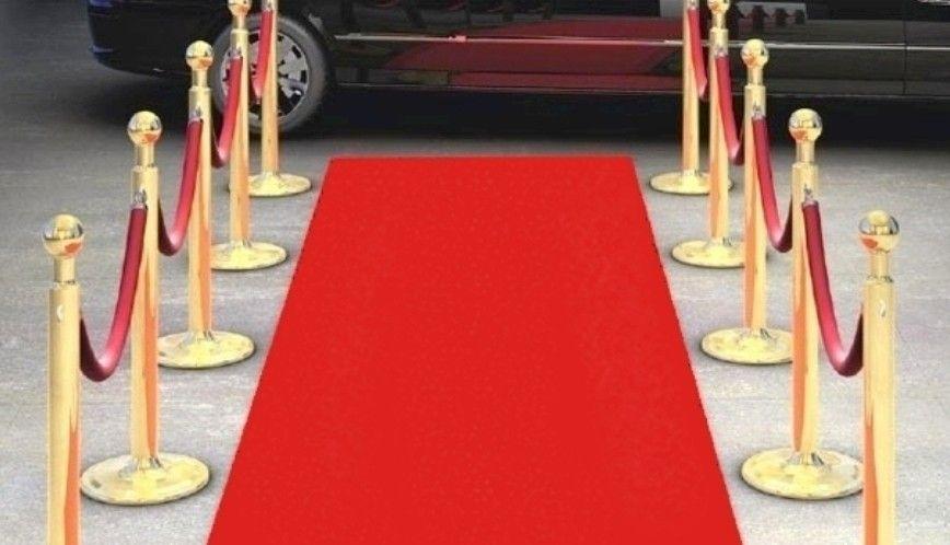 grand tapis rouge jetable 15 metres