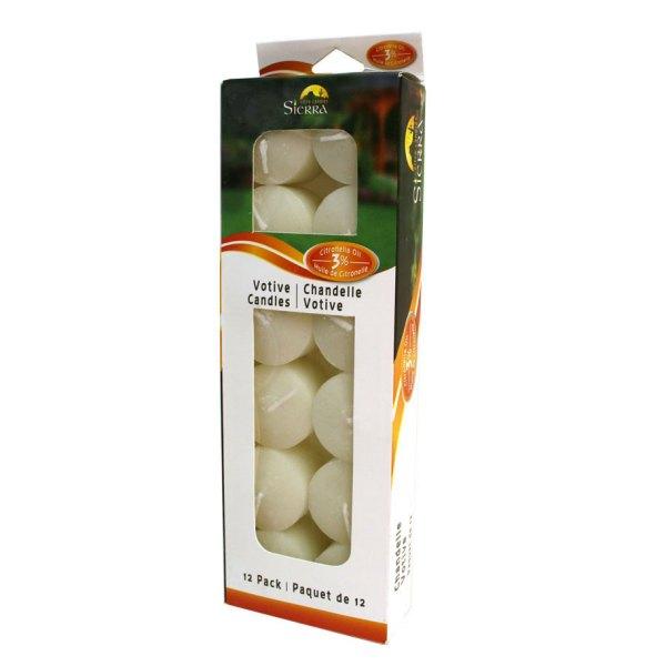 Pack Citronella Votive Candle - Sierra