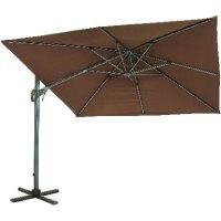 10' Square Offset Patio Umbrella