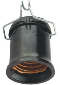 Outdoor Lamp Socket Pin - Single Circuit - Medium Base