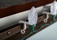 All-Purpose String Light Holders - 100 Pack - String ...