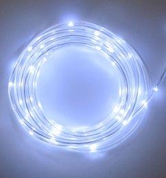 cool white led rope light battery multi function timer 15 feet [ 1000 x 1000 Pixel ]