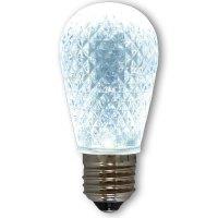 LED S14 Light Bulb - Medium Base - Faceted Bulb - Cool ...