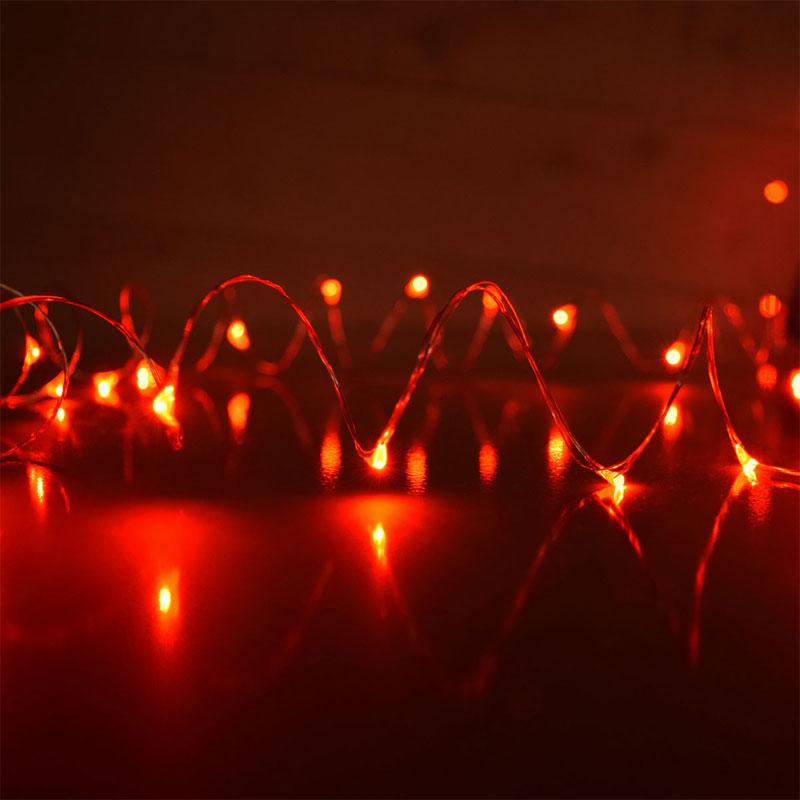Red String Lights