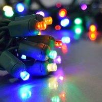 Multi Color LED Party String Light - 50 Lights