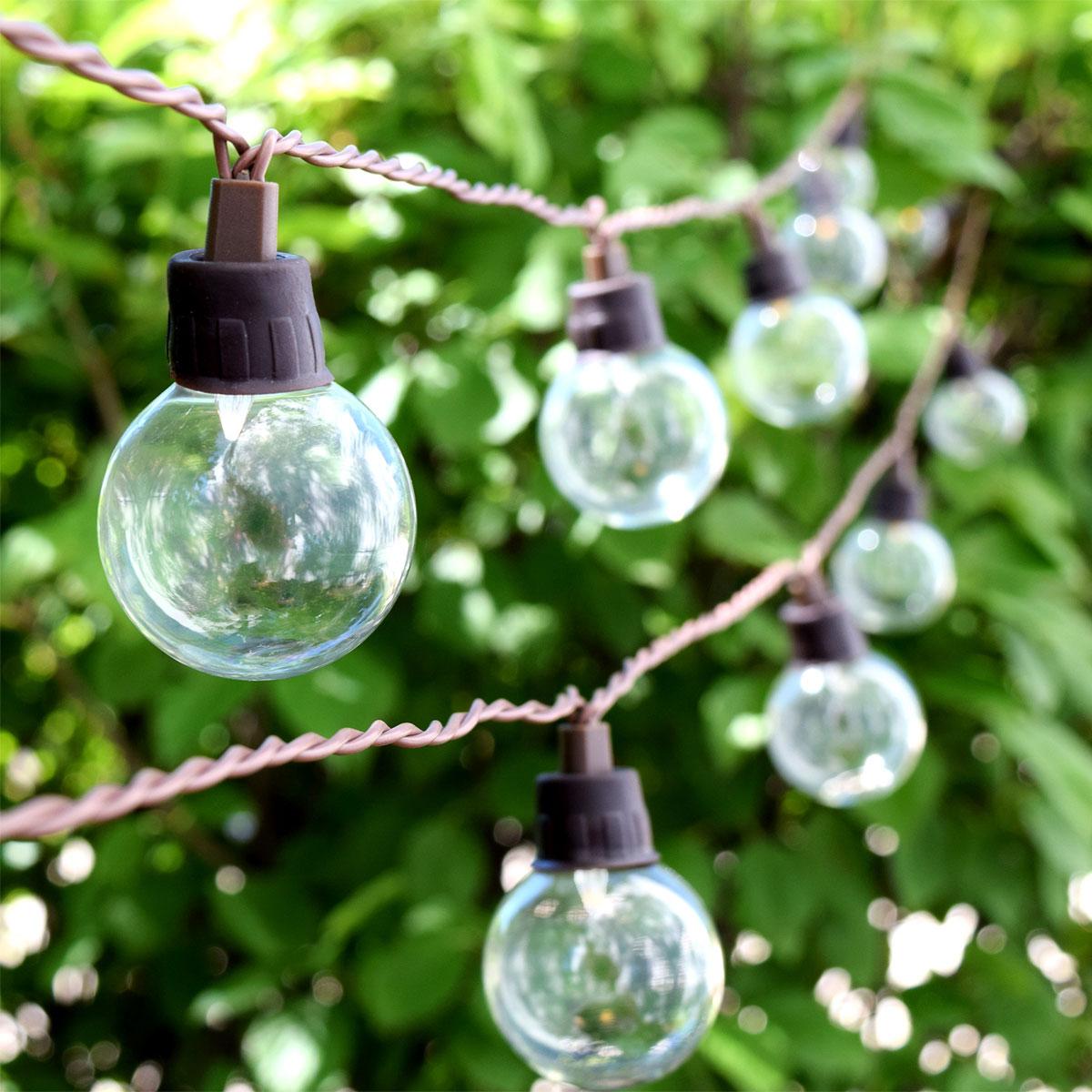 Solar Powered Patio Lights String