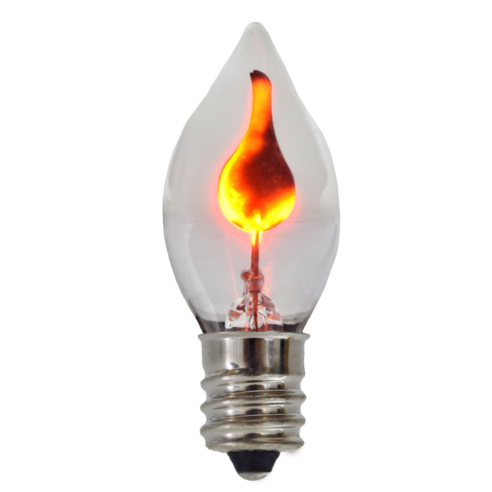 C7 Flicker Bulbs