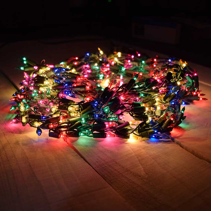 Multicolored Christmas Lights