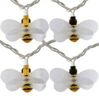 Honey Bee Party String Lights - 10 Lights