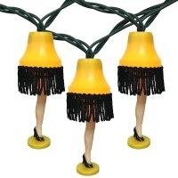A Christmas Story Leg Lamp String Lights