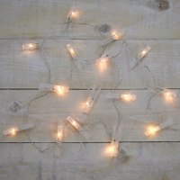 Clothespin Battery Operated String Light Set