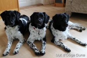 Nurja met haar dochters Bine en Bee-Leike