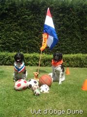 29-06-2014 Nurja en Bine zitten weer klaar Mexico-Nederland