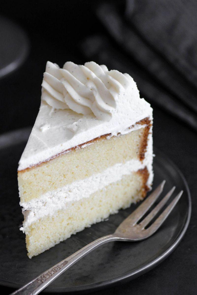 The Most Amazing Classic Vanilla Cake