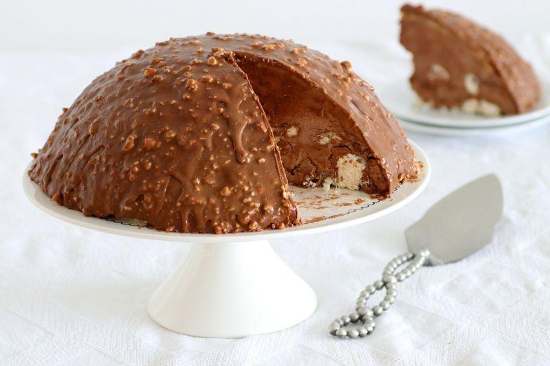 בומב מוס שוקולד ומרנג ללא אפייה