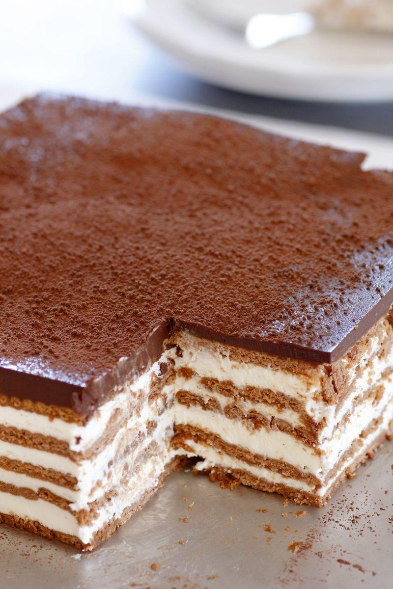 עוגת ביסקוויטים טירמיסו