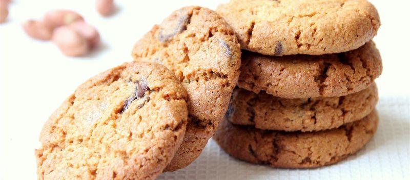 עוגיות בוטנים, שוקולד וקוקוס טבעוניות