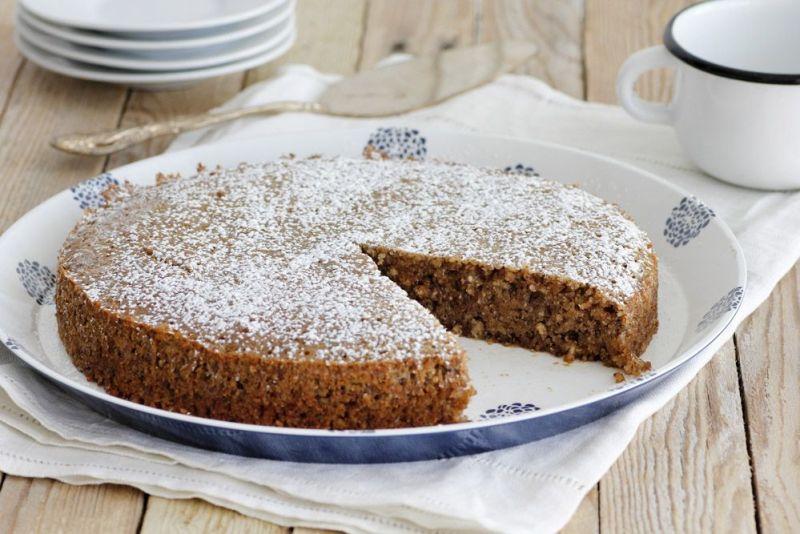 עוגת אגוזים ונוגט כשרה לפסח (ופרווה)