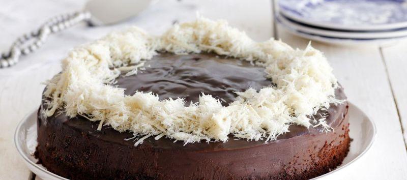 עוגת שוקולד וחלבה