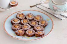 עוגיות בוטנים ושוקולד