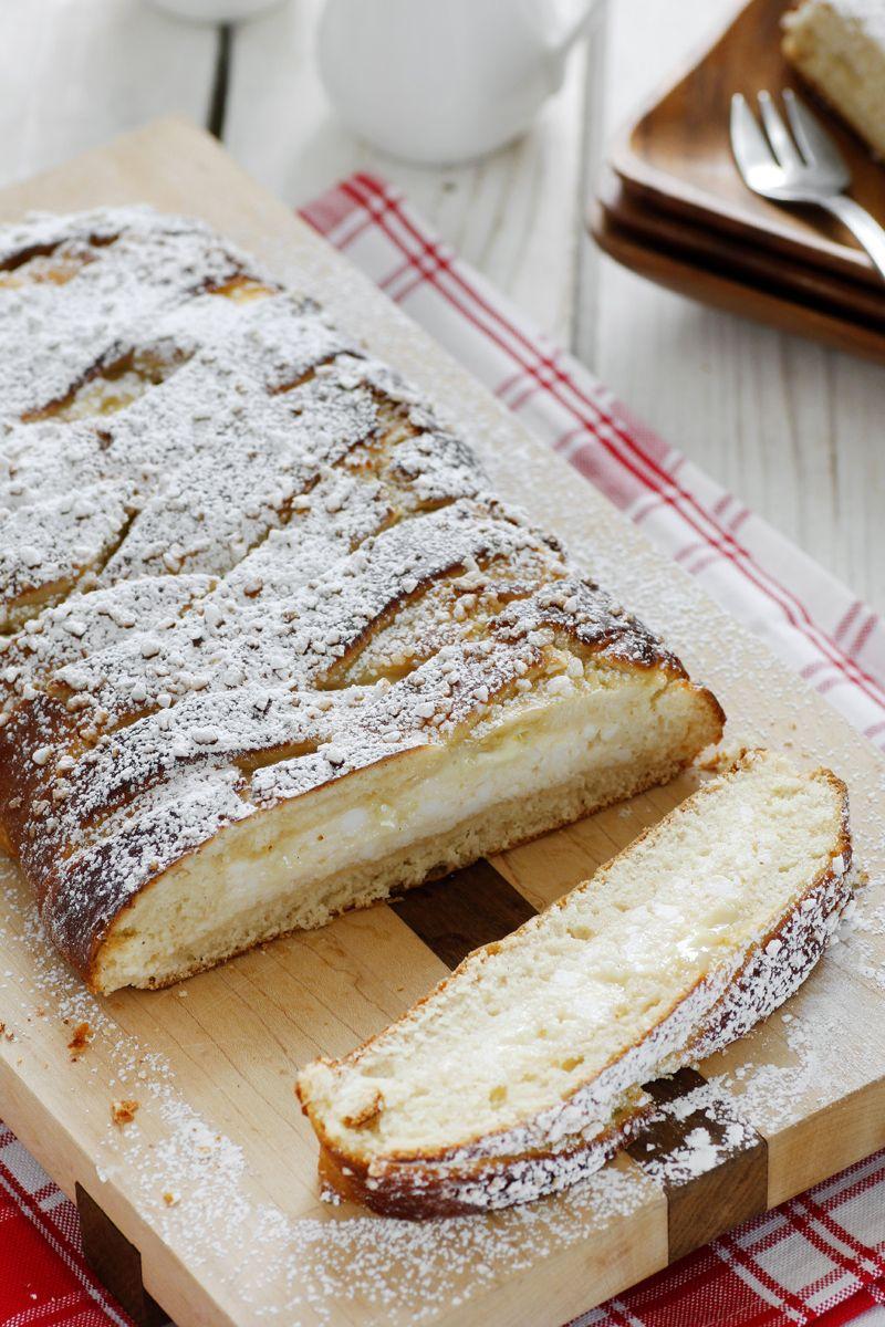 צמת שמרים גבינה ושוקולד לבן