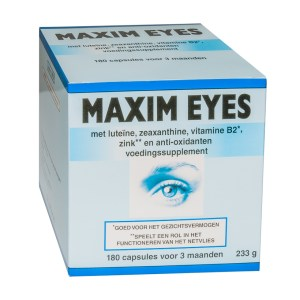 maxim eyes voedingssupplement