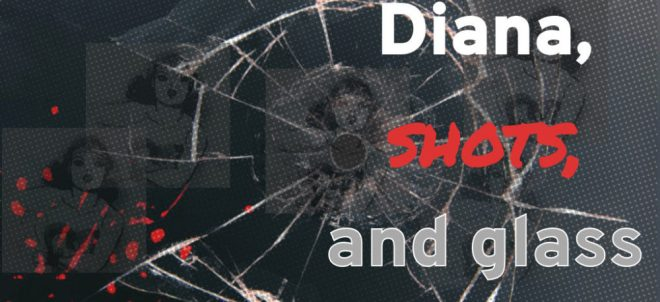 Microfiction: Diana, Shots, and Glass