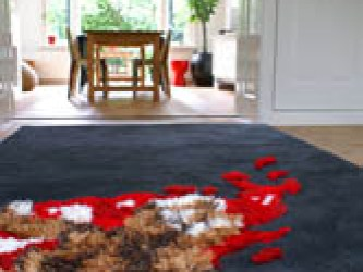 the estate of things chooses road kill carpet