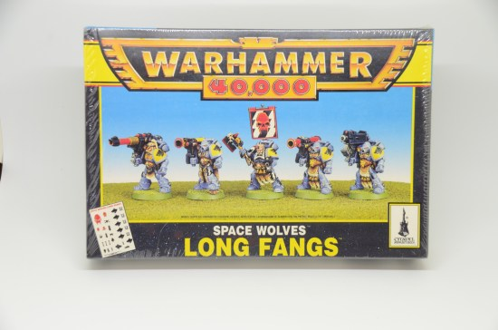 Space Wolves Long Fangs 2nd Edition