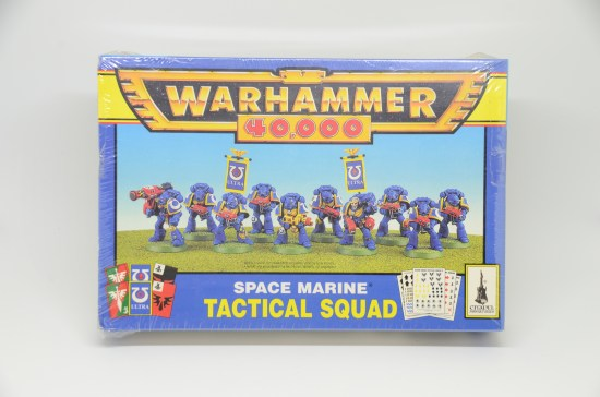 Space Marine Tactical Squad 2nd Edition