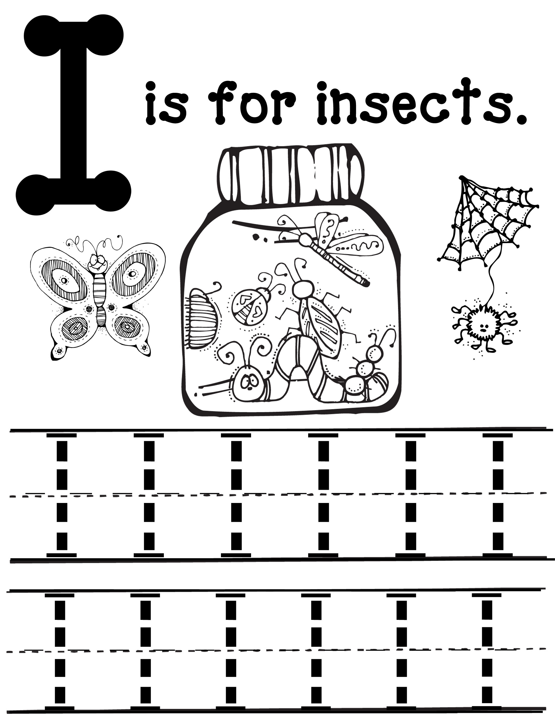 I Is For Insects Mommy School