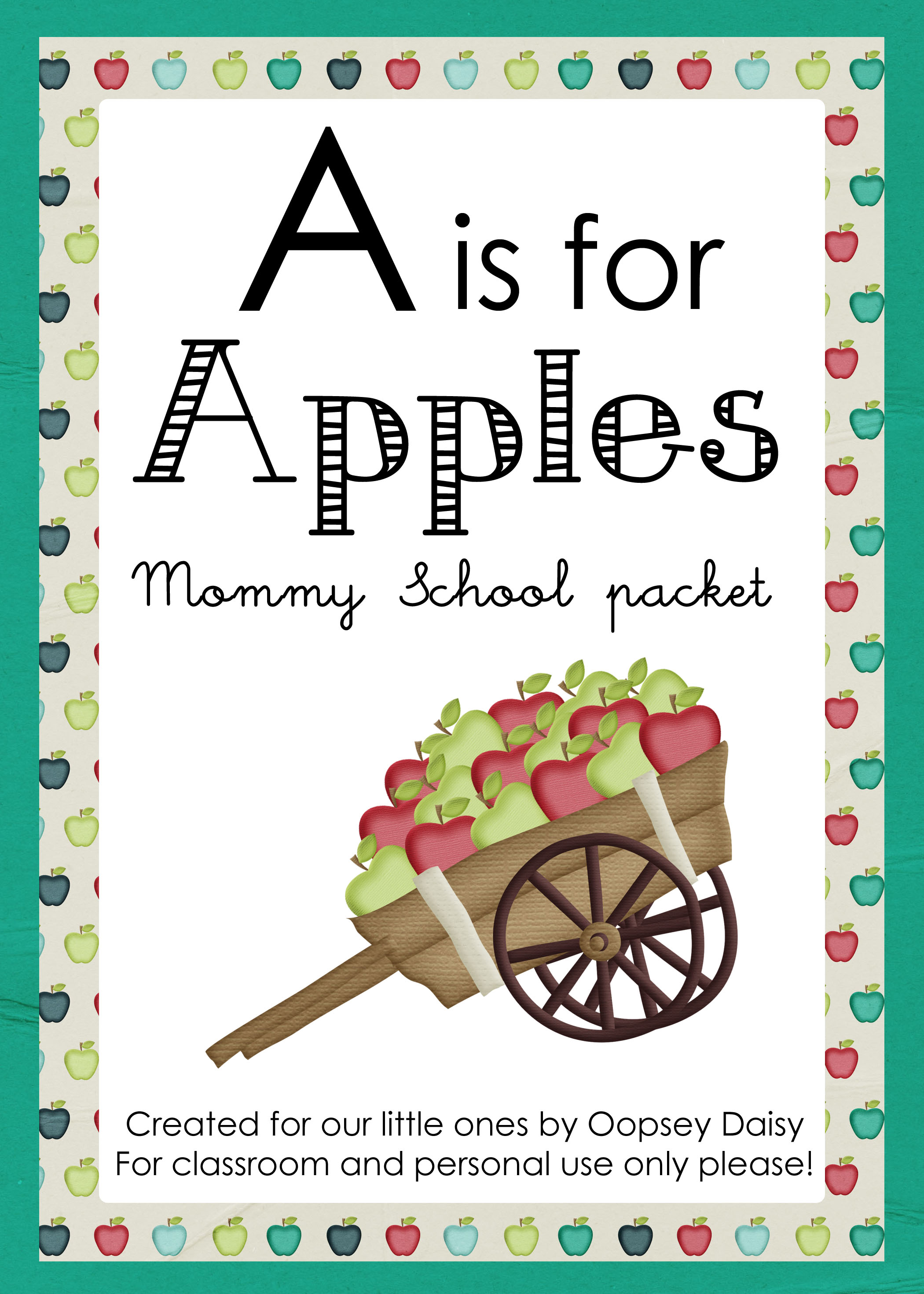 A Is For Apples Massive Packet