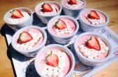 Strawberry-Mousse-Cake