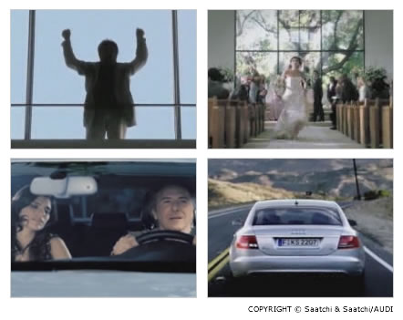 Just like your mother, por Saatchi and Saatchi, para AUDI