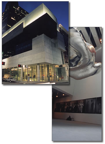Zaha Hadid's Rosenthal Center for Contemporary Arts [CAC]