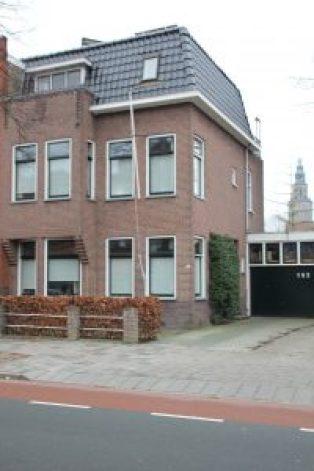 aanzicht Oostersingel Groningen