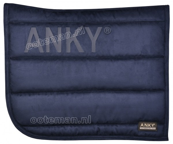 Anky Saddle Pad Navy  Ooteman Equestrian