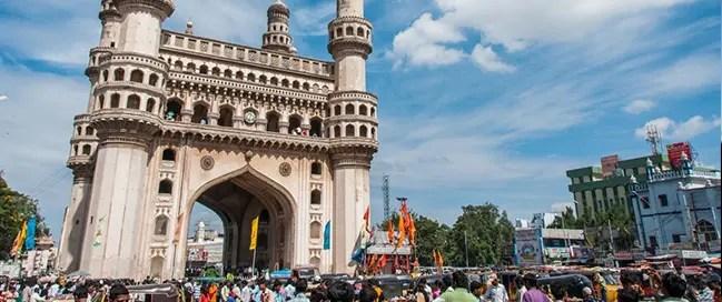 السياحة في الهند - مسجد تشارمينار