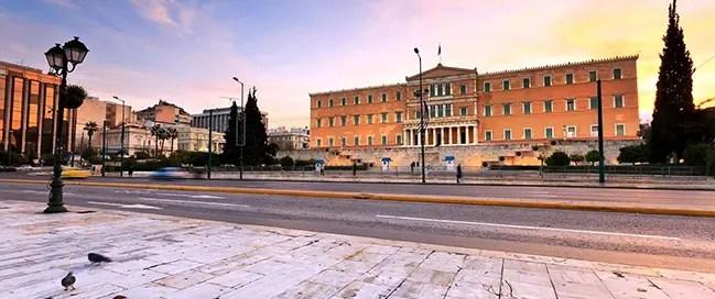 السياحة في اثينا - ميدان سينتاجما
