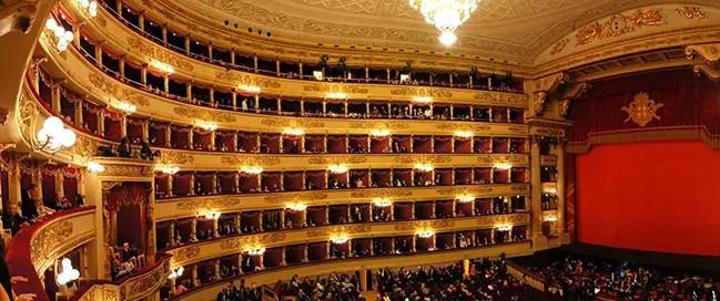 السياحة في إيطاليا - مسرح لا سكالا ميلان