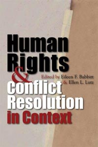 Human Rights and Conflict Resolutioni n Context