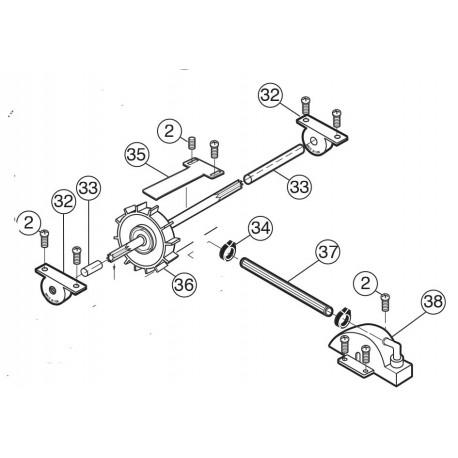 Pièces détachées aspirateurs polaris 280,380, 3900 pièces