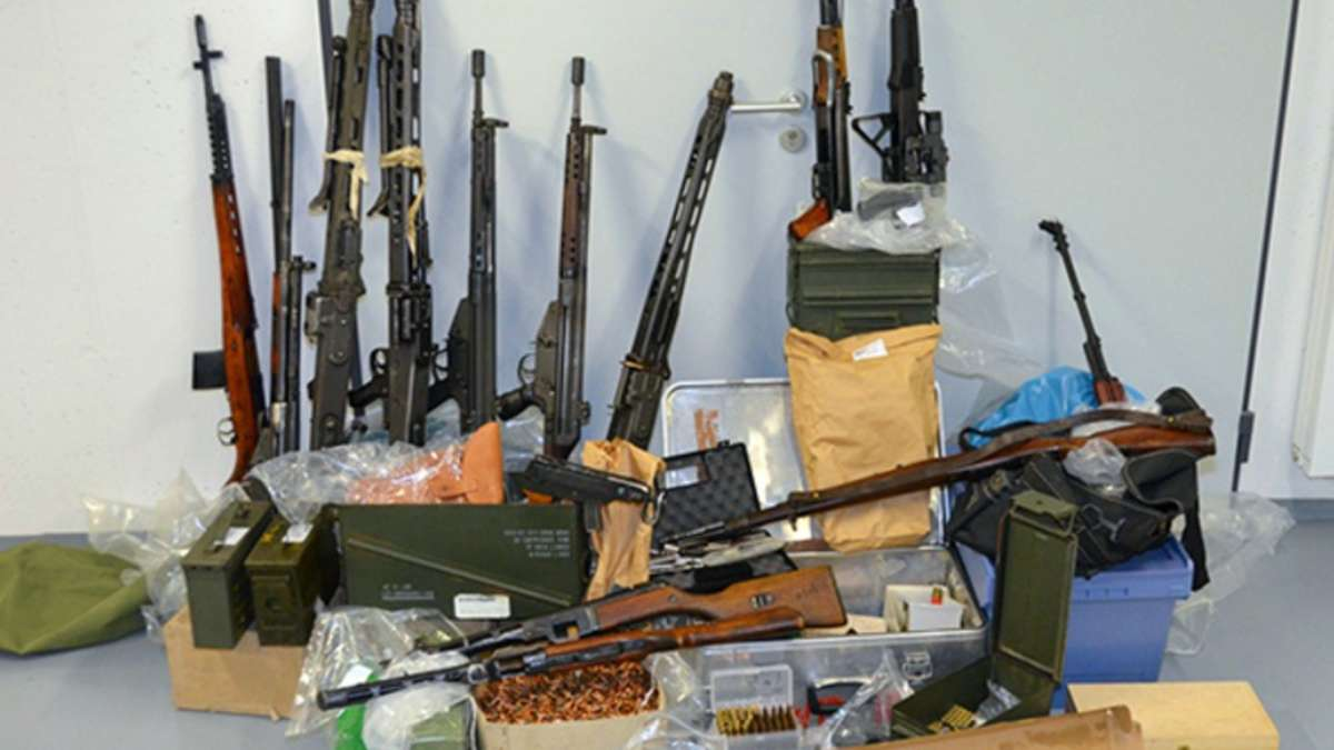 Waffenlager bei Reichsbrger in Grokrotzenburg gefunden