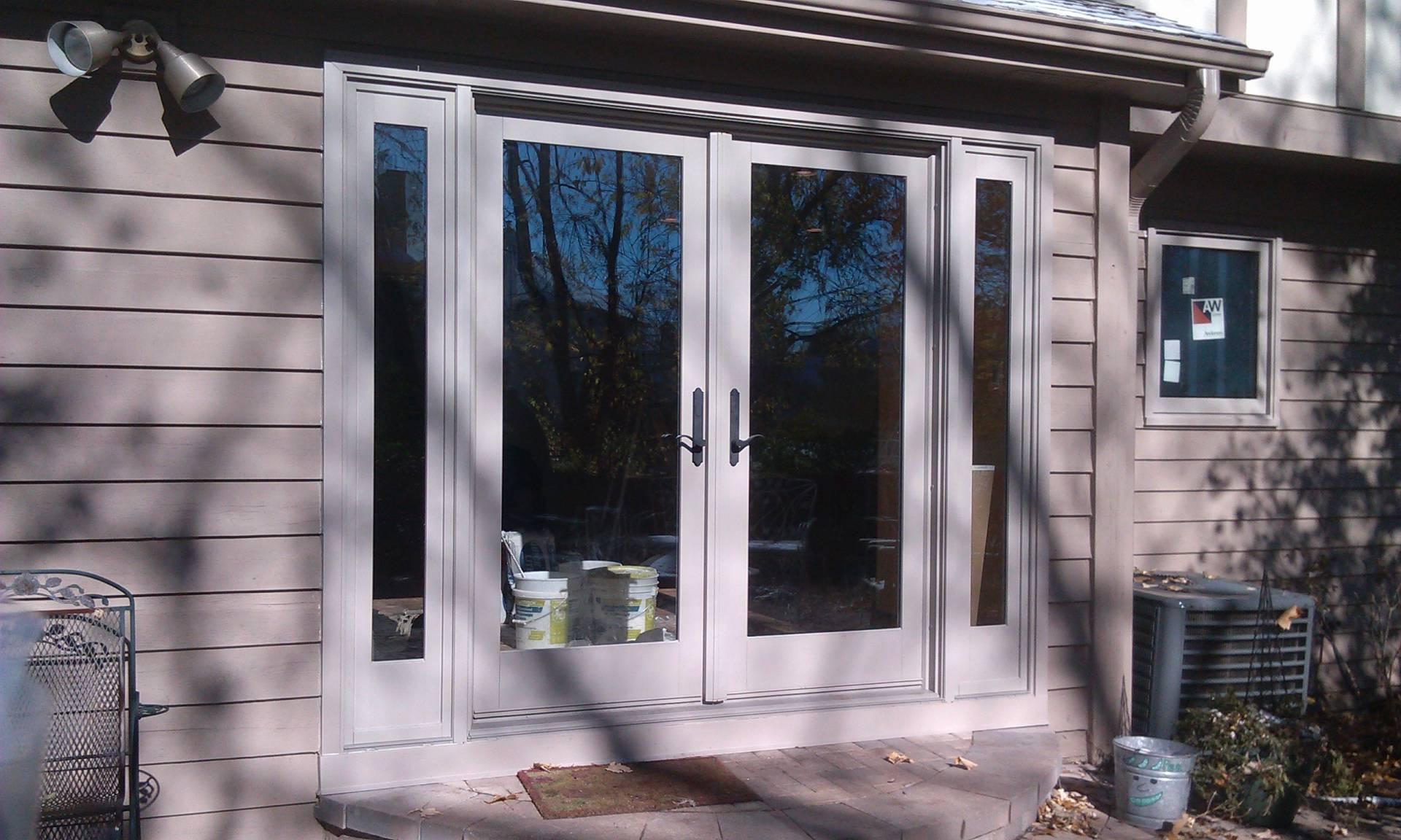 doors double hinged patio door