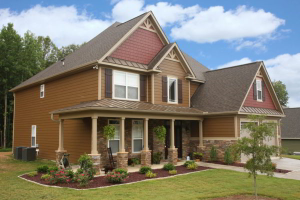 Chestnut Brown Designing with James Hardie Siding Colors