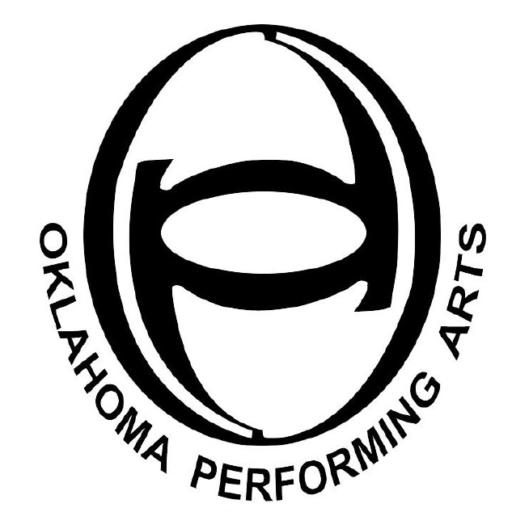 cropped logo oklahoma performing arts inc Box in Blue White G Logo cropped logo